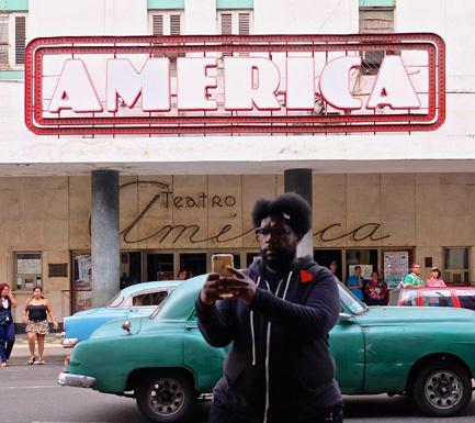 Questlove in Cuba |Okayplayer